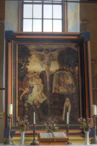 Altarbild im Chor der Kirche